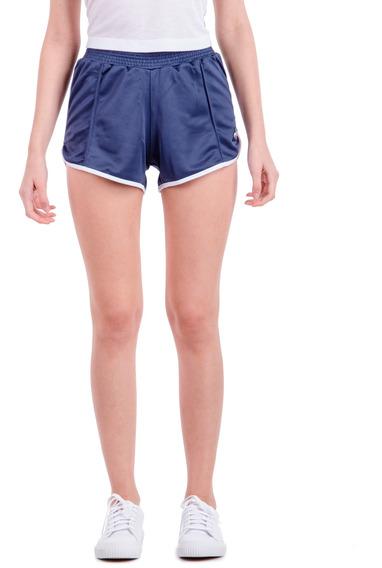 Short Tri Short Azul Mujer Le Coq Sportif