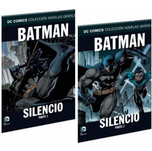 Dc Colección Novelas Gráficas Tomo 1 Y 2 Batman Silencio