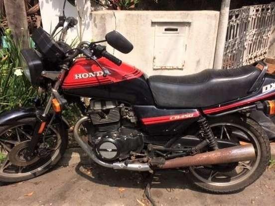 Honda Cb 450 Dx 1988 - Segundo Dono