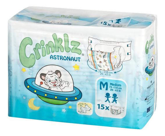 Crinklz Astronaut Mediano (pañales Abdl Para Adultos)