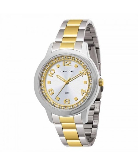 Relógio Feminino Lince Casual Lrtj024ls2sk