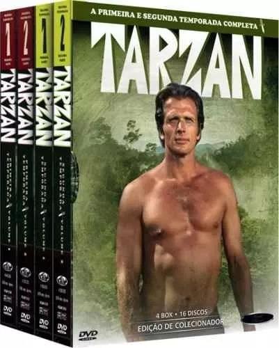 Box Tarzan Série Completa Coleção Original