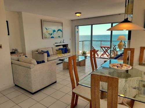Apartamento En Peninsula Con Vista Directa Al Mar!!- Ref: 2422