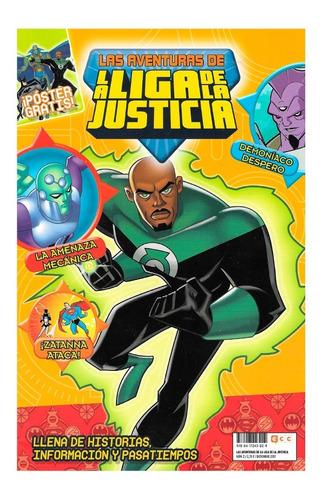Aventuras Liga De La Justicia #2 - Ecc - Estilo Bruce Timm