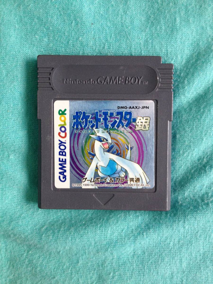 Pokemon Silver Japonês - Game Boy Color E Advance