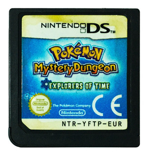 Pokemon Explorers Of Time En Español - Nintendo Ds & 3ds