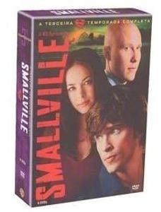 Box Smallville 3 Temporada ( 6 Dvd ) Original Novo Lacrado