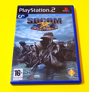 Socom U.s. Navy Seals Ps2 Pal Europeo