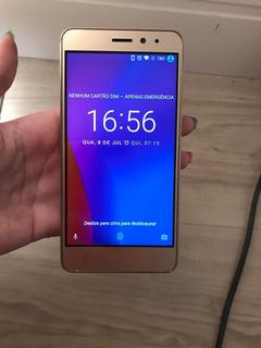 Celular Smartphone Lenovo Vibe K6 32gb Dourado