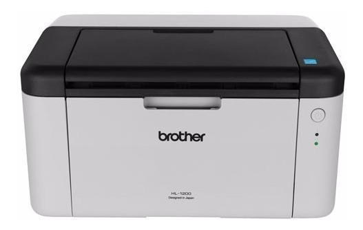 Impresora Laser Brother Hl-1200 Monocromatica Usb 2.0 12cts