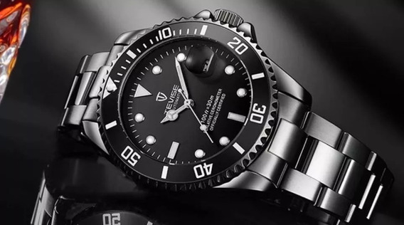 Relógio Masculino Automático Tevise Luxo Original Barat