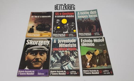 Livros História Ilustrada Segunda Guerra Ww2
