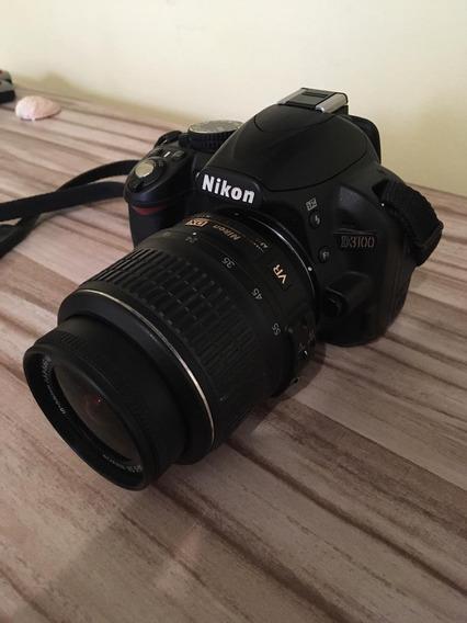 Nikon D3100 + Lente + Tripé