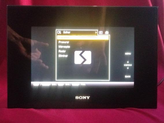 Porta Retrato Digital Sony - Dpf - D92 - 7.5