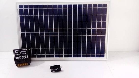 Panel Solar 25w Celda Solar Planta Fotovoltaica Envío Gratis