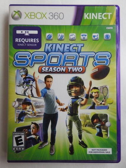 Jogo Kinect Sports Season Two Xbox 360 Fisico Original