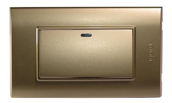 Interruptor Sencillo Largo 125v~250v 10a Igoto B512
