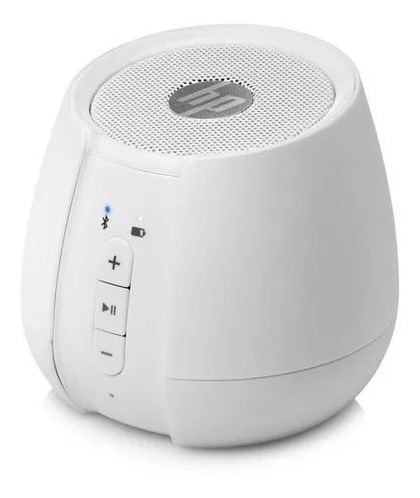 Speaker Hp S6500 Portátil Bluetooth Branco N5g10aa