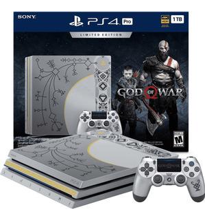 Playstation 4 - Ps4 Pro De 2 Tb God Of War Novo