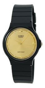 Relogio Casio Gold Tone Mq76-9a Original