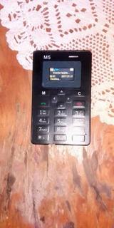 Teléfono Celular Pocket Card Phone M5.