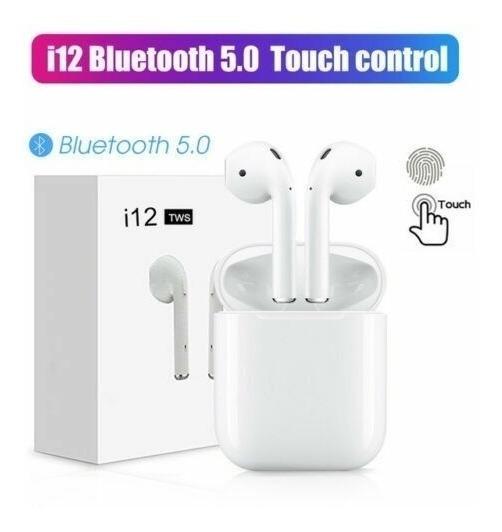 I12 Tws Touch Auriculares, Audifonos. 15v Tienda