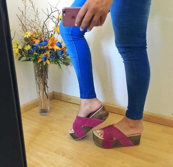 Zapatos De Mujer Color Fucsia Importados De Usa Talle 39