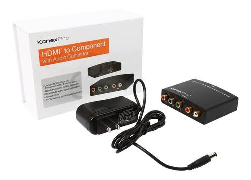 Imagem 1 de 7 de Conversor Hdmi Para Vídeo Componente Com Áudio Rgb Kanexpro