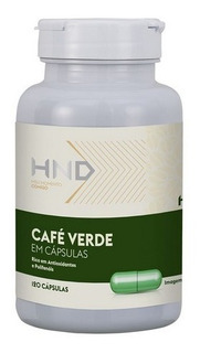 Café Verde Hnd Hinode 120 Cápsulas