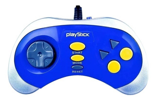 Consola Level Up Playstick plata/azul
