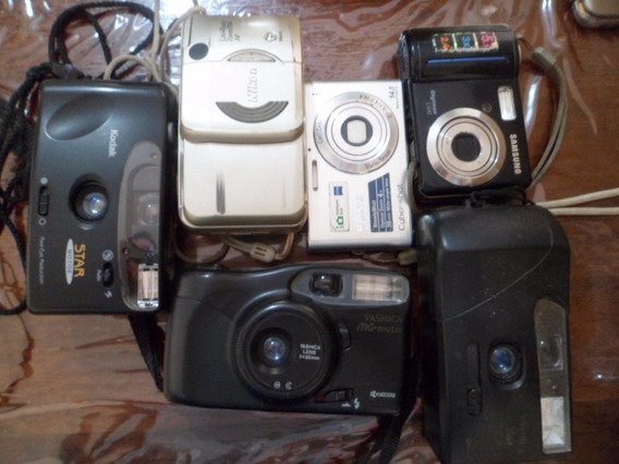 6 Maquina Fotografica Sony Kodak Yashica Nikon Samsung