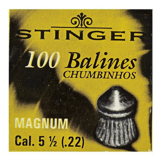 Chumbinho Stinger Md Magnum 5.5mm 100un
