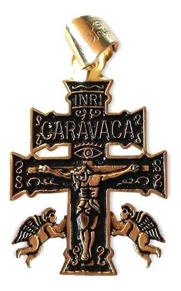 Cruz De Caravaca En Chapa De Oro Atrae Éxito En Todo....
