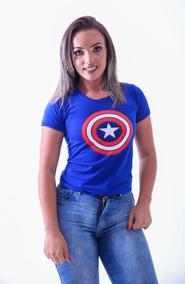 Camiseta Capitão America, Camisa Captain America