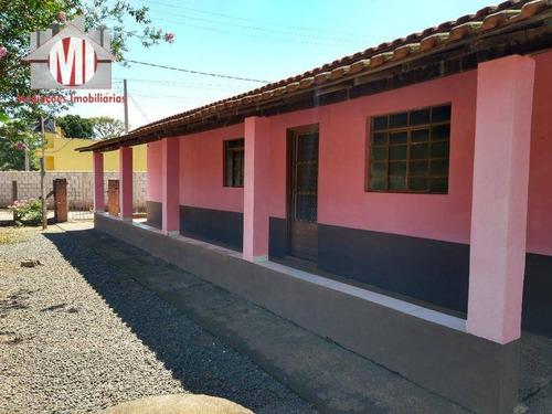 Ótima Chácara Com 4 Dormitórios, Pomar, Excelente Localização, À Venda, 380 M² Por R$ 180.000 - Rural - Socorro/sp - Ch0807