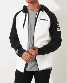 Blusa Frio Hollister Masculino Original Ziper Importado M G