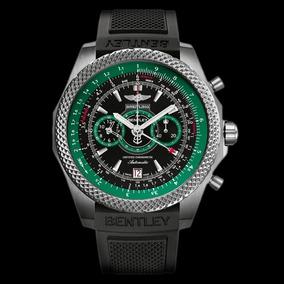 Breitling For Bentley Titanium Light Body Green 49mm