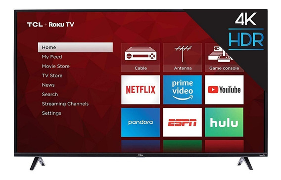 Tv Tcl 50 Pulgadas Roku 4k Wifi Bluetooth Smart Led Ultra Hd