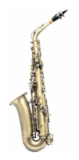 Saxofone Alto Eb Jahnke Envelhecido Jsah001 Ev