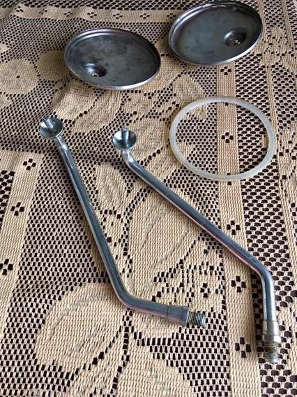 Espelho Retrovisor Yamaha Rd 350 Antiga Viuva Negra Um Par