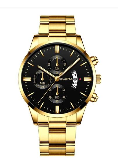 Relógio De Luxo Masculino /o Conforto E Respeito No Dia Dia!