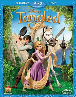 Blu-ray + Dvd Tangled / Enredados