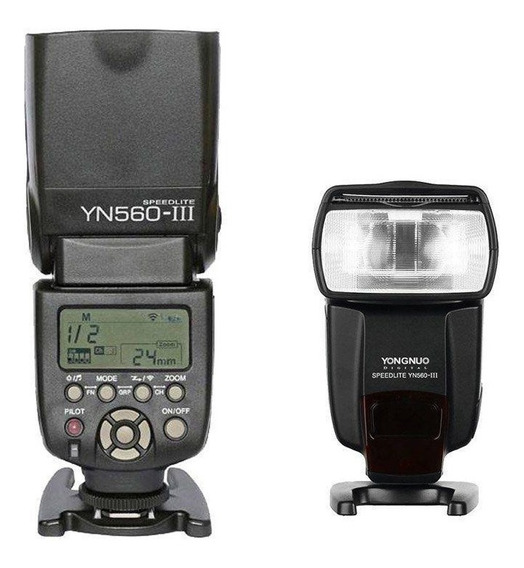 Flash Yongnuo Yn560 Ill Universal Para Canon Nikon E Sony.