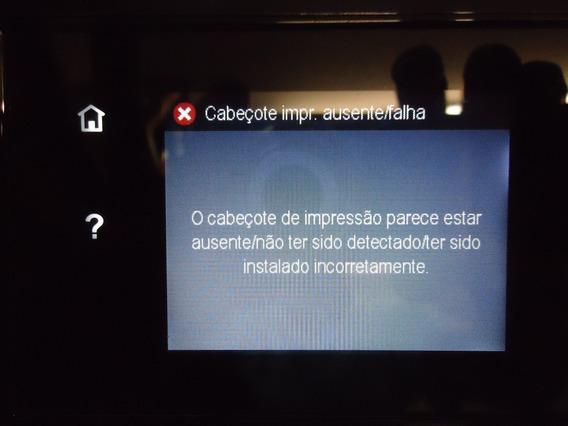 Impressora Hp Officejet Pro 810 C/ Defeito, C/ 4 Cartuchos