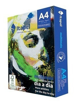 Papel Sulfite A4 Caixa Com 2500 Folhas (5 Resmas) Itapel