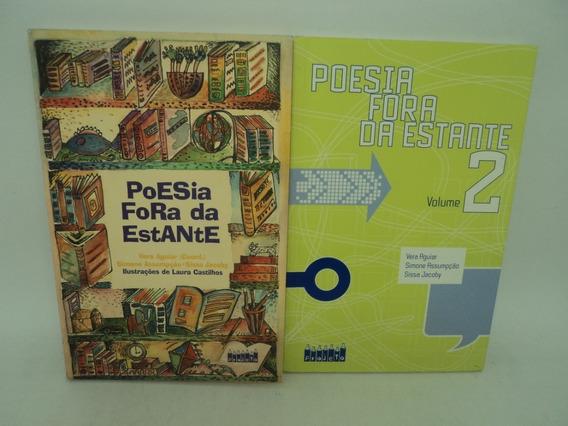 2 Livros Poesia Fora Da Estante Volume 1 E 2