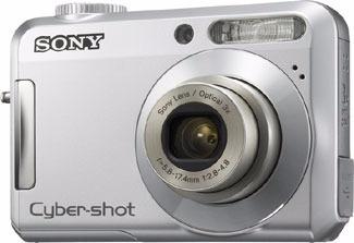 Câmera Sony Dsc-s650 2gb - Usada