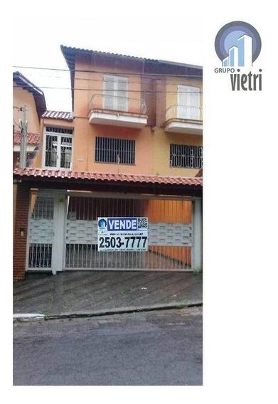 Sobrado A Venda 2 Dormitorios 3 Vagas Pirituba - Proximo Ao Terminal - So2279