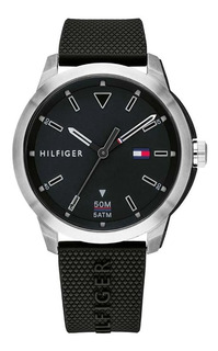 Reloj Hombre Tommy Hilfiger Sumergible Negro 1791622