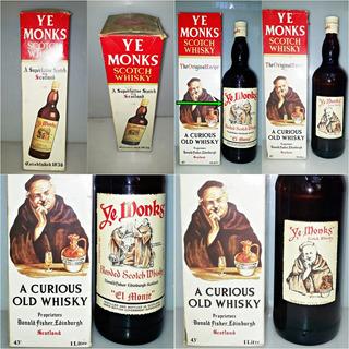 Ye Monks - Whisky De 1 Litro